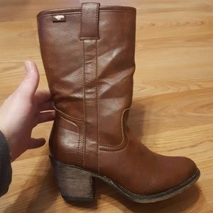 Rocket dog faux leather  boot